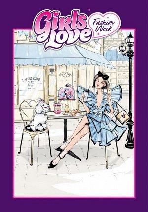 Набор для творчества ЯиГрушка Блокнот Girls Love Fashion Week 23х33 см5