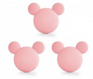 """Стопоры """"Микки Маус"""", цвет розовый"""