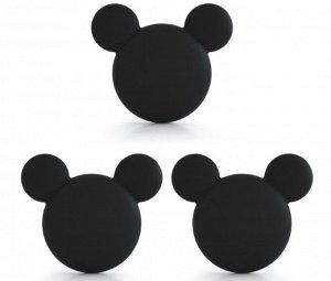 """Стопоры """"Микки Маус"""", цвет чёрный"""