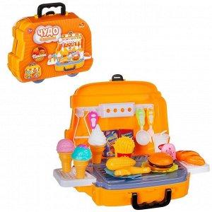 Игровой набор ABtoys Чудо-чемоданчик Пикник, 26 предметов835
