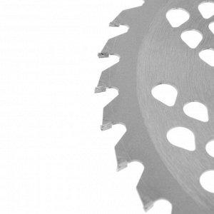Нож для триммера TUNDRA, 230 х 25.4 мм, 36 зубьев