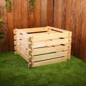 Компостер деревянный, 350 л, 90 ? 90 ? 60 см