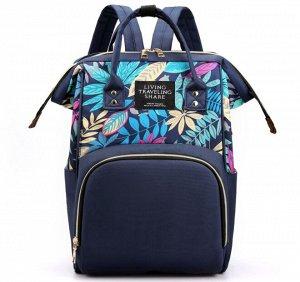 Сумка-рюкзак, цвет синий