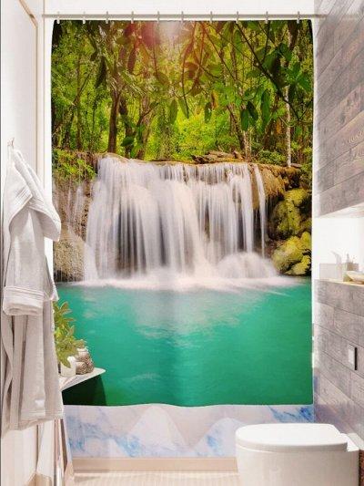 Фотошторы, фототюль и домашний текстиль с фотопечатью — Фотошторы: Для ванной