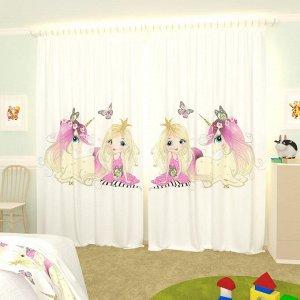 Детские фотошторы Коллекция My Little Princess 14