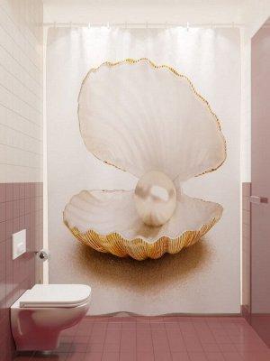 Фотоштора для ванной Жемчужина