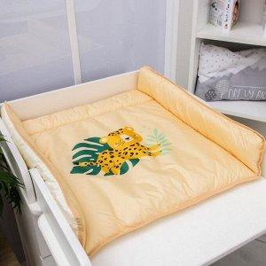 Матрасик пеленальный на комод «Сафари» Люкс