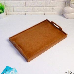 """Столик для завтрака, с ручками """"Сканди"""", 47?30?21 см, орех"""