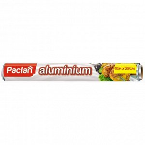 ПАКЛАН Фольга алюминиевая 10 м 29 см/рулон