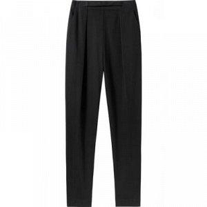 Зауженные брюки черные