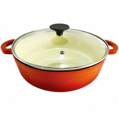 Посуда Appetite. Готовить – значит творить — MYRON COOK-Чугунная посуда
