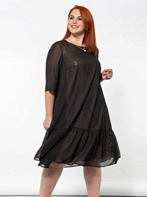 Платье 0028-13 золотой