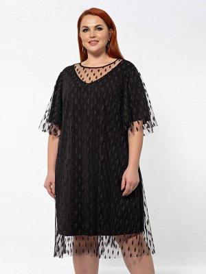 Платье 0011-5 черный