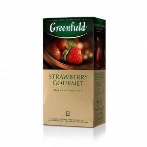 Чай Гринфилд Strawberry Gourmet 1,5г 1/25/10, шт