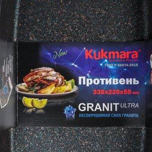 Противень Granit Ultra blue, 40х29,5х5 см, антипригарное покрытие