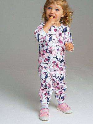 Комплект трикотажный для девочек: толстовка, брюки