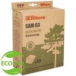 Filtero SAM 03 (10+фильтр) ECOLine XL, бумажные пылесборники