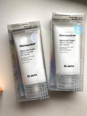 Dr.Jart +Dermaclear Micro pH Foam Гель-пенка для умывания и глубокого очищения pH 120 мл