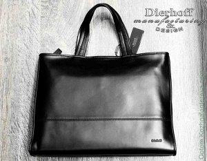 Портфель Dierhoff ДМ 2014/55 черный