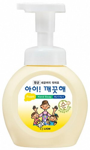 Пена жид. д/рук LION Korea Ai-Kekute 250мл антибактериальная д/чувств.кожи (бутыль)