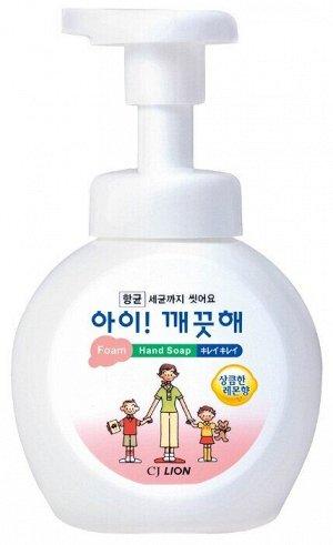 Пена жид. д/рук LION Korea Ai-Kekute 250мл антибактериальная Лимон (бутыль)