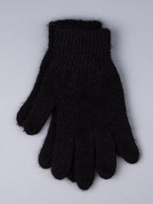 Перчатки вязаные мужские, черный