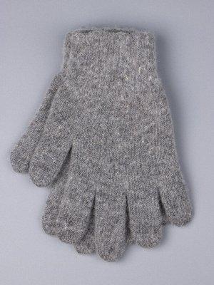 Перчатки вязаные мужские, серый