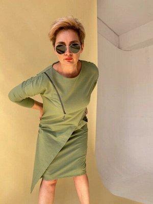 Платье MADAM оливковое