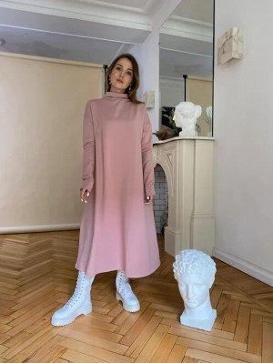 Платье MERCURY пудра