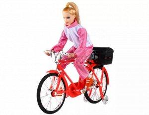 Музыкальный Велосипед с барби