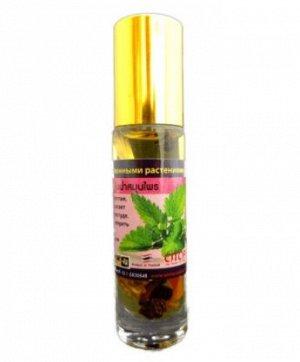Бальзам жидкий Banna от головной боли, тошноты, на виски, Лекарственные растения 10 гр
