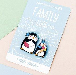 Набор значков для мамы и ребёнка.
