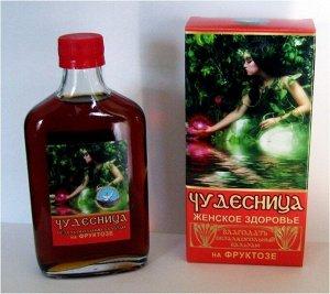 """Бальзам безалкогольный """"Чудесница"""" на фруктозе 250 мл."""