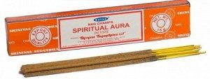Благовония Satya Nag Champa Spiritual Aura 15 гр. (10-12 шт.)