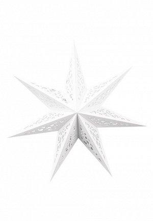 Декоративное украшение «Звезда», цвет белый
