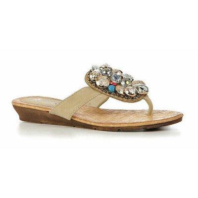 ОКЕАН ОБУВИ - финальный сток, лучшие цены — женские сандалии — Без каблука