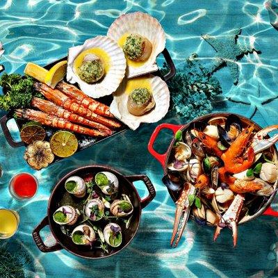 Крабовое мясо в подарок — Морепродукты — Азия