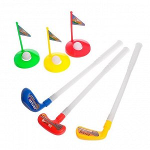 Набор для гольфа «Меткий игрок», 9 предметов