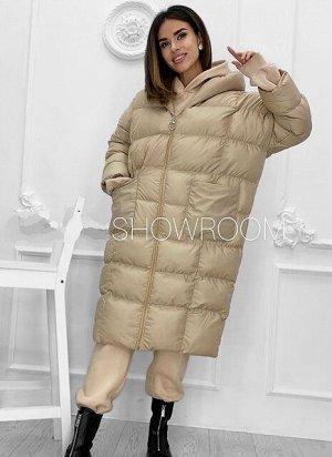 Куртка Куртка «Роббин». Стёганная куртка очень свободного кроя, модель-реглан. Материал: таслан. Состав: полиэстер 100%. Наполнитель: холлофайбер. Температурный режим: до -10*С Размерная сетка:⠀ Разме