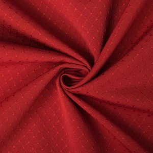 """Штора портьерная """"Этель"""" 130х280 см Английский стиль красный.100% п/э"""