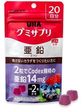 Витамины UHA жевательный комплекс витаминов Цинк на 20 дней
