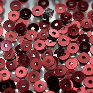 Пайетки LM Paris 3 мм плоские