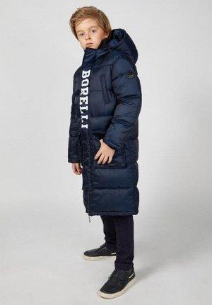 Пальто Наполнитель: изософт, цвет: синий, температурный режим: -25