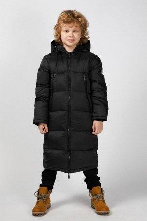 Пальто Наполнитель: изософт, цвет: черный , температурный режим: -25