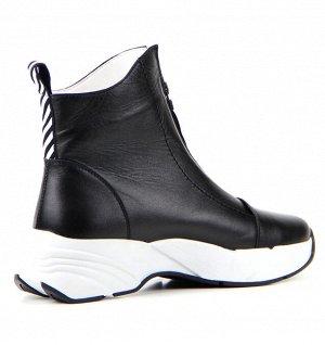 Ботинки натуральная кожа Черный