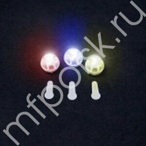 Светодиод круглый разноцветный 20 шт