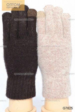 Перчатки женские вязаные для сенсорных экранов