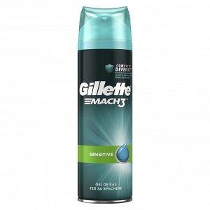GILLETTE MACH3 Гель для бритья 200мл