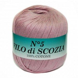 Filo Di Scozia №5 1073 пыльная роза