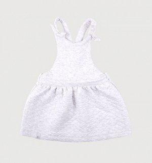 Сарафан для девочки Crockid КР 5622 светло-серый меланж к261